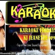 Karaoke Fridays with KJ Jeanette